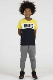 Tommy Life Basic United Sarı Çocuk Tshirt