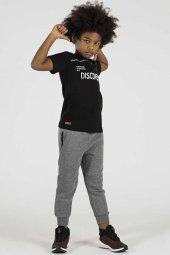Tommy Life Dıscover Yazılı Siyah Çocuk Tshirt