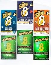 Süper Enerji 8. Sınıf Sözel Bölüm Soru Bankası Ve Deneme Seti Nitelik Yayınları & Palme Kitabevi