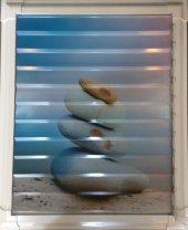 40 X 45 Alüminyum Dekoratif Baskılı Lüks Banyo Wc Panjur