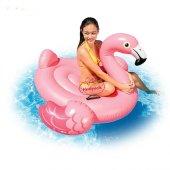 Intex Flamingo Binici Tutmaçlı Ada 142x137x97cm