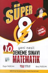 Süper 8. Sınıf Matematik Yeni Nesil Deneme Sınavı Nitelik Yayın