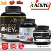 Torq Nutrition Gold %100 Whey Protein 2300 Gr + Bcaa+ 500 Gr + Glutatorq 300 Gr