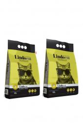 Lindo Cat Kokusuz Kalın Taneli Kedi Kumu 10 Lt X 2 Adet