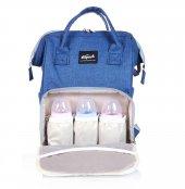 Thepack Tr2109 Trendy Anne Bebek Çantası Keten Mavi