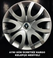 Renault Uyumlu Jant Kapağı 15 İnç Kelepçe Hediyeli...