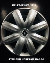 Renault 14 İnç Kırılmaz Jant Kapağı Takımı Kelepçe...