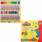 Play Doh Pastel Boya 24 Renk Play Pa004