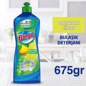 Bingo Bulaşık Deterjanı Elde Yıkama Limon 675gr