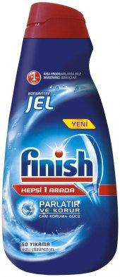 Finish Bulaşık Makinası Deterjanı Jel 50 Yıkama 1l...