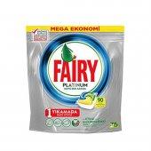 Fairy Platinum Bulaşık Makinası Tableti 90 Adet...