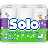 Solo Kağıt Havlu 6 Rulo Adet