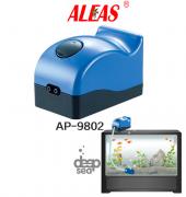 Aleas Ap 9802 Çift Çıkışlı Akvaryum Hava Motoru