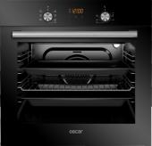 Oscar 8048 Siyah Cam Elektro Turbo Fırın