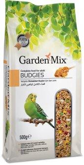 Garden Mix Super Premium Ballı Muhabbet Kuşu Yemi 500 Gr (5 Adet)