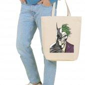 Angemiel Bag Büyük Joker Ve Batman Alışveriş Plaj ...