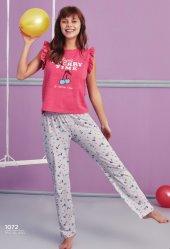 Kiraz Desen Detaylı Pijama Takımı Bb 1072