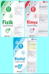 Nitelik Yayınları 11. Sınıf Fizik,kimya,biyoloji Yaprak Test Seti
