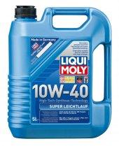 Liqui Moly Super Leichtlauf 10w40 Motor Yağı 5lt 100 Sentetik 9505 2018 Üretim