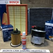 Bosch Ford Focus 1.6 Tdci Filtre Bakım Seti 2007 Karbonlu