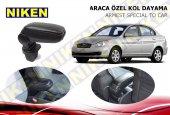 Niken Araca Özel Hyundai Accent Era Vidasız Kol Dayama Kolçak Siyah 2005 2011