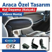 Omsa Ford Focus 3 Usbli Araca Özel Kol Dayama Kolçak Siyah 2011 2014