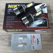 Niken Evo Serisi H15 Led Xenon 4000lm 12v + T10 Dipsiz Led Ampül