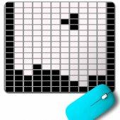 Atari Ateri Tetris Nostaljik Oyun Beyaz Mouse Pad