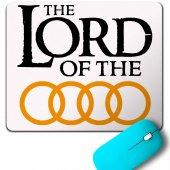 Audı Logo Lord Of The Rıngs Yüzüklerin Efendisi Mouse Pad