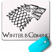 Game Of Thrones Wınter Is Comıng Mouse Pad