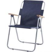 Unicorn Ahşap Kollu Katlanabilir Kamp Bahçe Plaj Sandalyesi