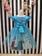 Elsa Elbise Doğum Günü Parti Kız Çocuk