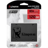 Kıngston 120 Gb Sata3 Ssdnow A400 500 320mb S Ssd