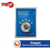 Snapper 25mm Zor Açılan Güvenlikli Alüminyum Çerçe...