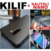 Huawei Y9 2019 Soft Kaliteli Kılıf + Nano Ekran Ko...