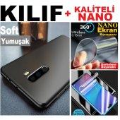 Alcatel Idol 6 Soft Kaliteli Kılıf + Nano Ekran Ko...