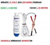 Midapo 12 Volt Mazot Aktarma Pompası Dalgıç Süt Sıvı Su Aktarma