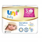 Uni Baby Sensitive Islak Bebek Havlusu 3*56 Yaprak...