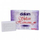 Dalan Sultan Hamamı Klasik Saf Sabun 800 Gr(4x200g...