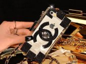 Chanel Parfum Şişesi Modeli İphone 5 Ve 5s Cantalı Askılı Kılıf Siyahtaşlı