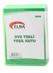 Elba Pl 221e Tekli Yeşil Renkli Standart Dvd Kutus