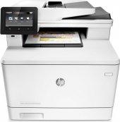 Hp Color Laserjet Pro Mfp M477fdw Faks + Fotokopi + Tarayıcı + Ethernet + Wifi + Airprint + Yazıcı