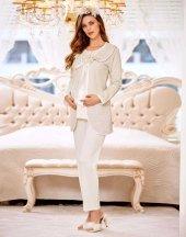 Flz 31 245 Bayan Hamile Lohusa 3lü Pijama Takımı