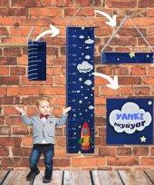 çocuk Odası Boy Ölçer Boy Cetveli