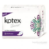 Kotex Secret Ultra Hijyenik Ped Uzun (8 Adet)