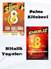 Süper Enerji 8. Sınıf Din Kültürü Ve Ahlak Bilgisi Soru Bankası Seti Nitelik Ve Palme Yayınları
