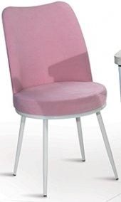 Lucy Metal Ayaklı Mutfak Salon Cafe Bahçe Sandalyesi