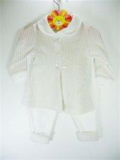 Sema Bebe Puantiyeli Kız Elbise Semaelbs18
