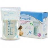 Weewell 25 Li Süt Saklama Poşeti Wms800
