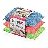 Tuffex Havalı Bulaşık Süngeri 3lü Paket